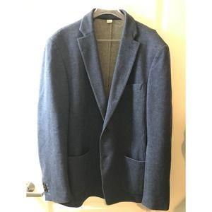 Todd Snyder 42L Mayfair Fit Cotton Blazer Blue